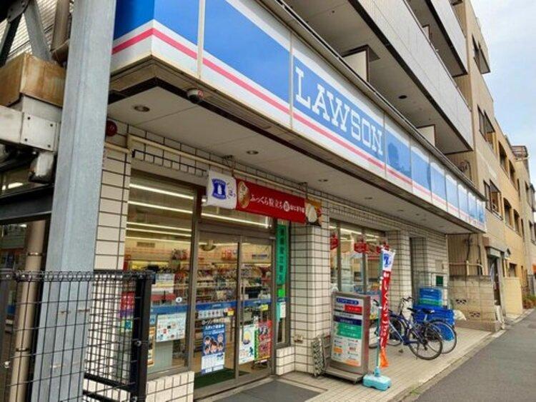 """ローソン平井6丁目店まで377m。マチの健康ステーション。 """"みんなと暮らすマチ""""を幸せに。"""