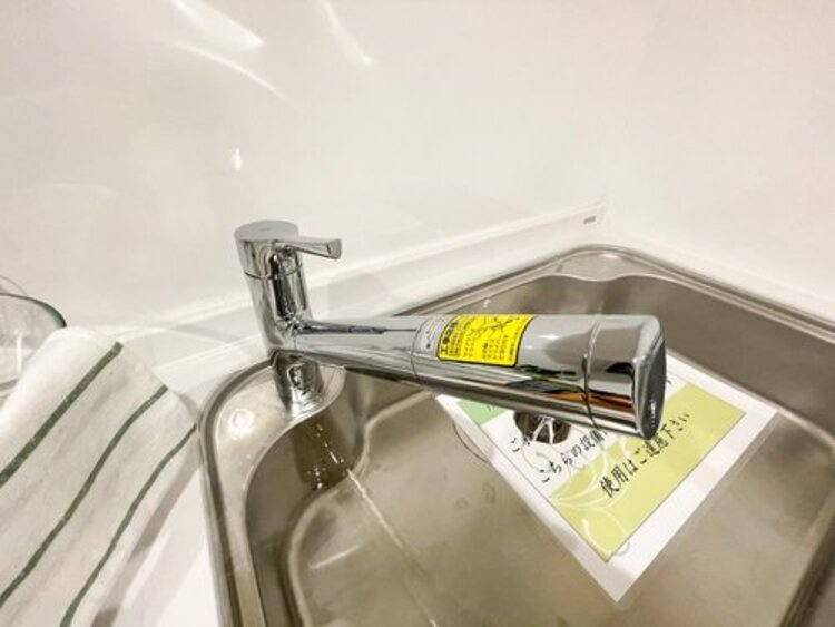 クリアな水が毎日使え、見た目にもスマートな浄水器一体型。お米を炊いたりする際には浄水機能をつかうこともできて、人気の商品です。