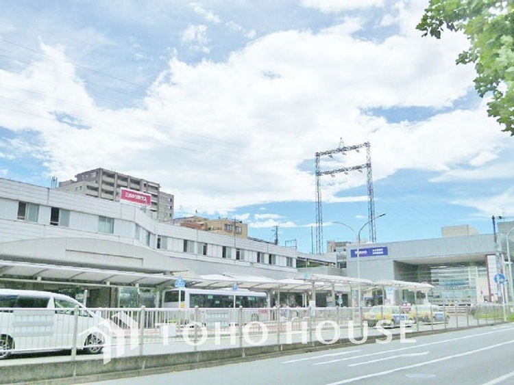 東急田園都市線・地下鉄ブルーライン「あざみ野」駅 距離1400m