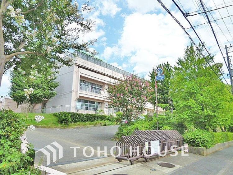 横浜市立中川西中学校 距離550m