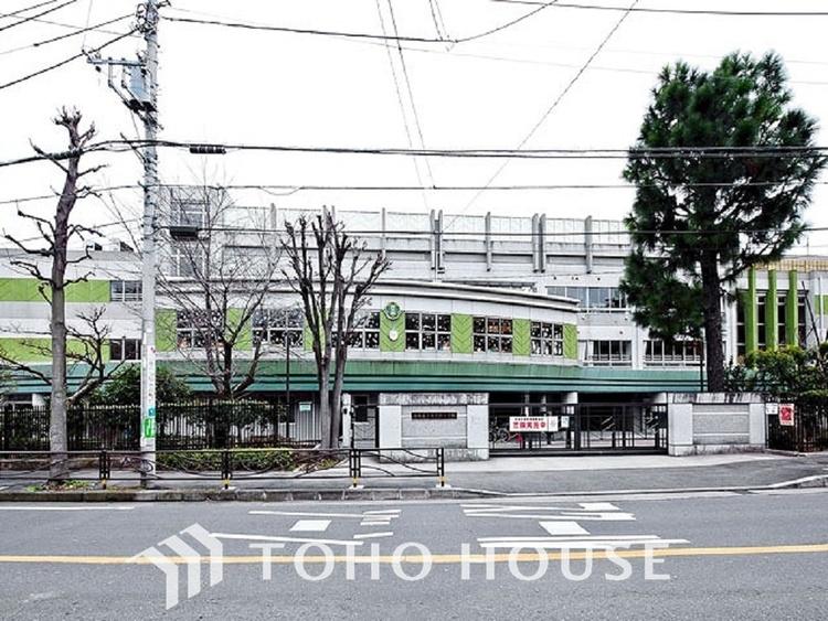 川崎市立西生田小学校 距離240m