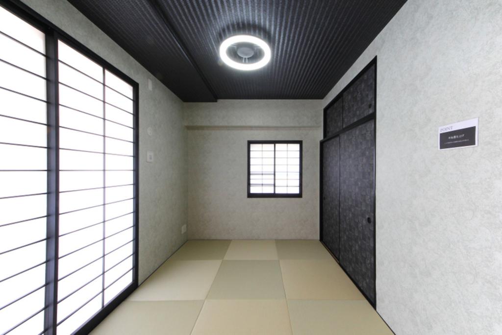 Re・ノベーション畳に新調したモダン和室
