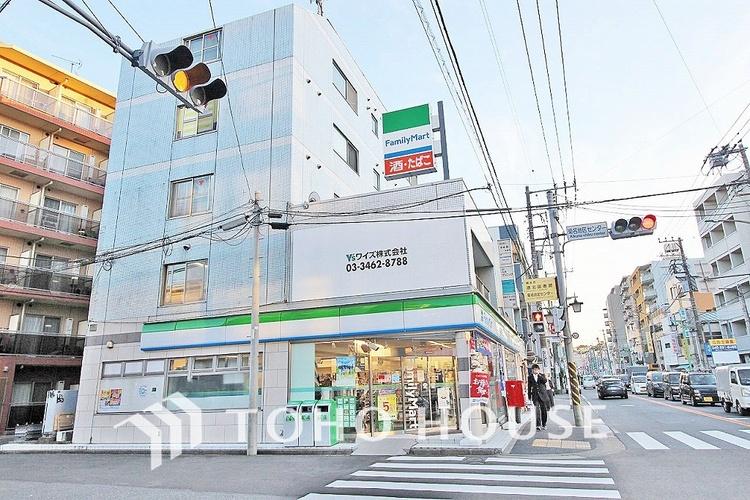 ファミリマート 横浜菊名店 距離350m