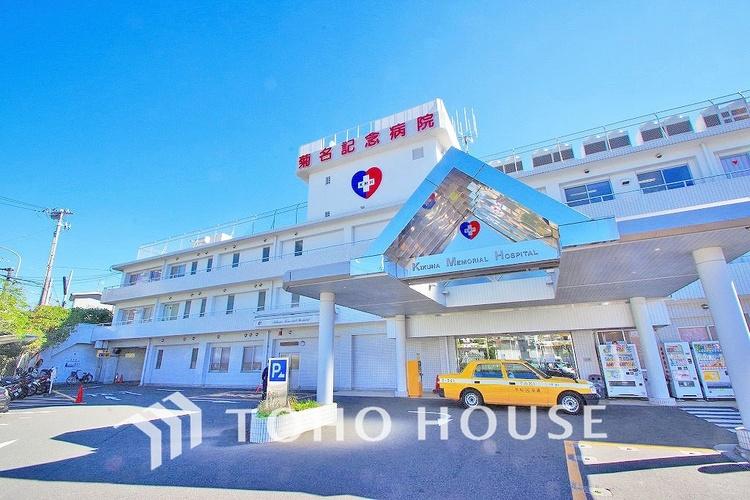 菊名記念病院 距離1000m