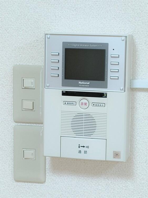 ◇モニター付きインターホン 安心して暮らせる住まいには欠かせないモニター付きインターホン。