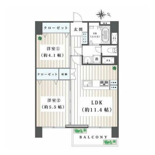 高田馬場住宅(1307)の物件画像