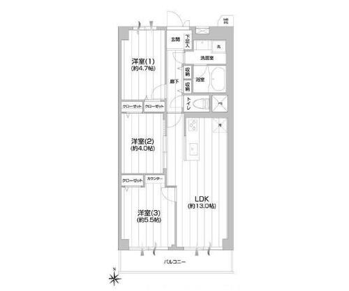 川崎セントラルコーポの画像
