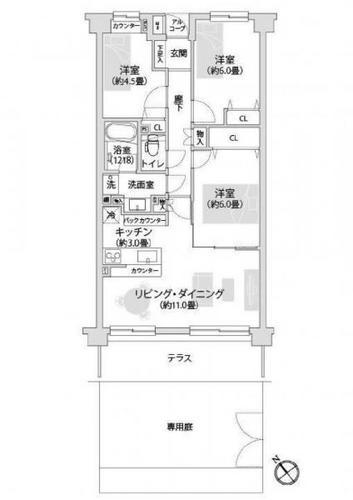 日吉東パーク・ホームズの画像