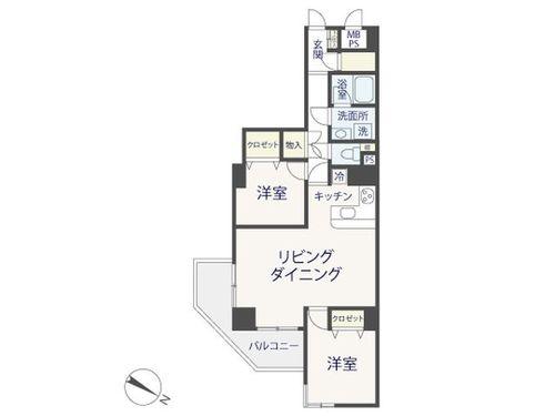 「オリエント三軒茶屋ハウス」~renovation~大切なペットと生活できるお部屋の間取り