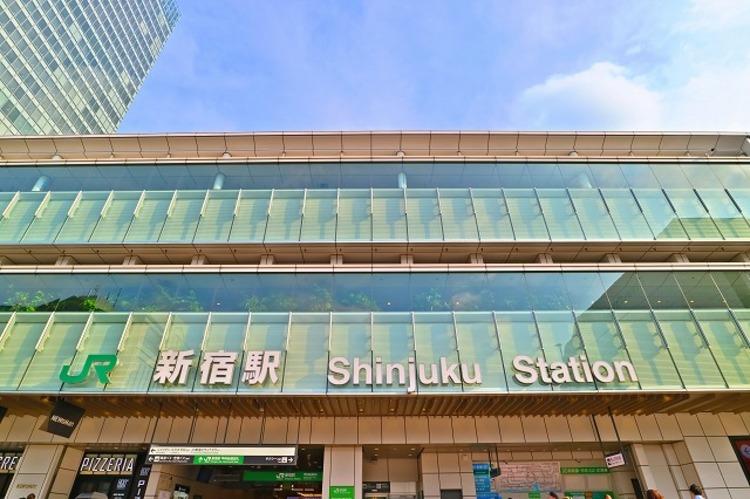 JR山手線 新宿駅 約1200m