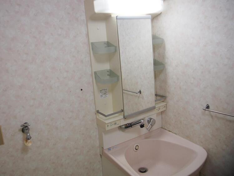 洗面室です。