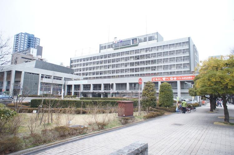 仙台市役所 徒歩4分(約300m)