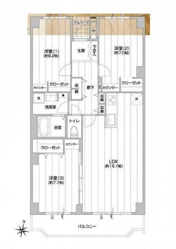 グリーンハイム弥生台11号棟の画像