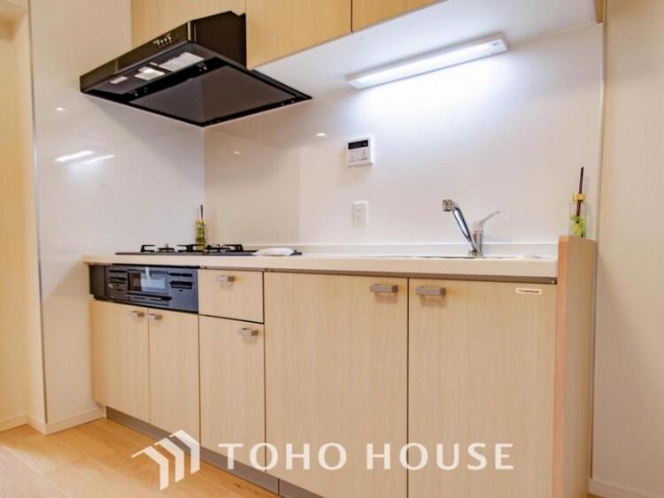 家族の健康を支えるキッチン。毎日使う場所だから気持よく使えて、居心地の良い空間に。