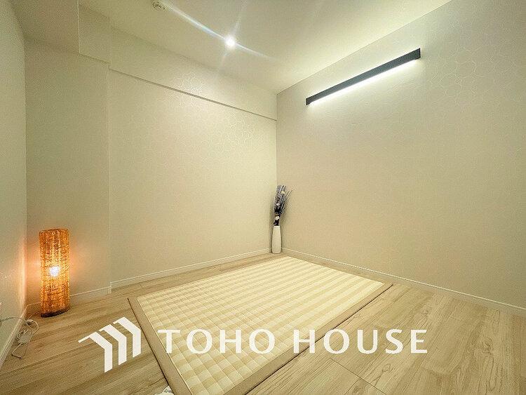リノベーション済みのお部屋なので新築のような室内です