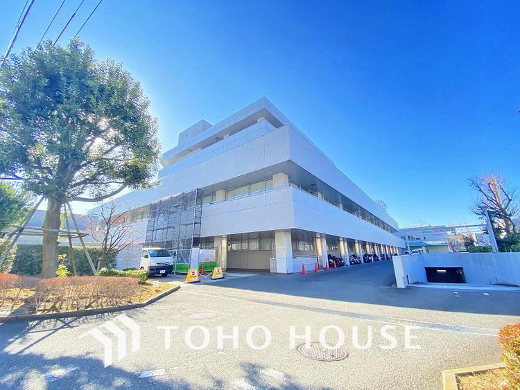 横浜市立脳卒中・神経脊椎センター 介護老人保健施設コスモス 距離1100m