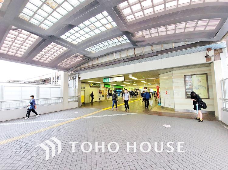 東海道線・横須賀線・湘南新宿ライン「戸塚」駅 距離400m