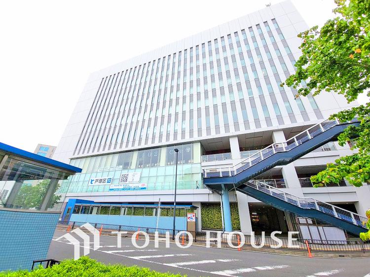 戸塚区総合庁舎 距離600m