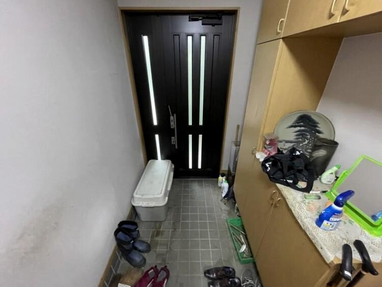 玄関には収納もたっぷり、スッキリした衛生的な空間を保てそう
