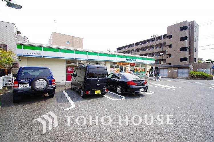 ファミリーマート ニック 北加瀬3丁目店 距離300m