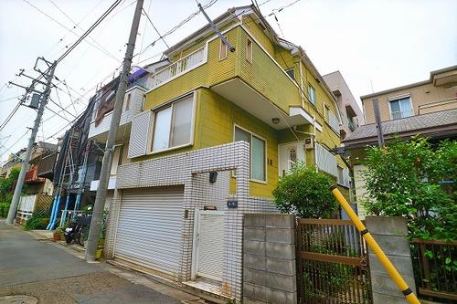 電動シャッター車庫完備~大田区多摩川2丁目戸建て~閑静な住宅街に住まうの画像