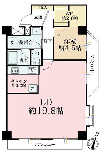ライオンズマンション新川崎の物件画像