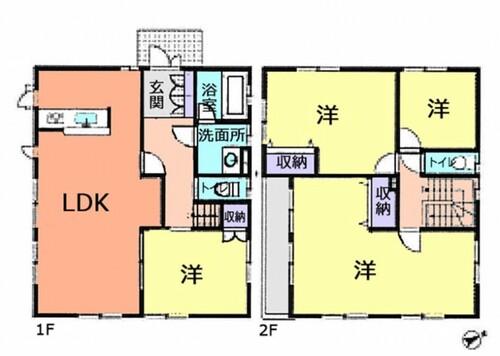 久喜市樋ノ口 中古住宅の物件画像