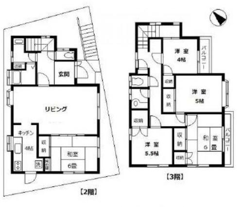 中古 弘明寺 地下車庫2台可能な5LDKの画像