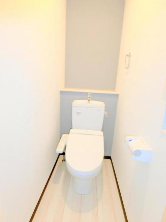 清潔感のあるトイレです♪♪