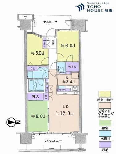 東京フロンティアシティアーバンフォートイーストブロック(12F)の画像