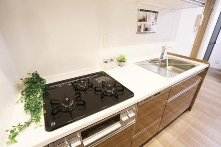 【キッチン】 浄水器付きシステムキッチン