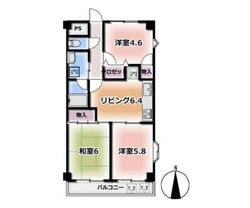 横浜坂東橋ガーデンハウスの物件画像