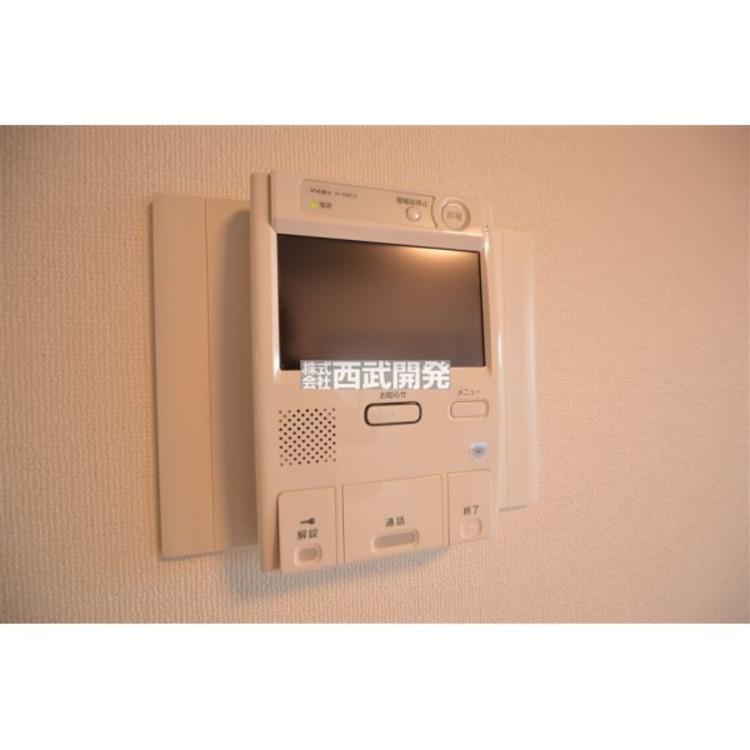 TVモニター付インターホンでセキュリティ面にも配慮