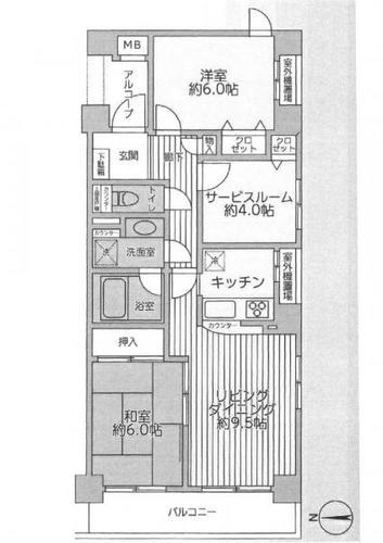 ナイスパークコート鶴見潮田の画像