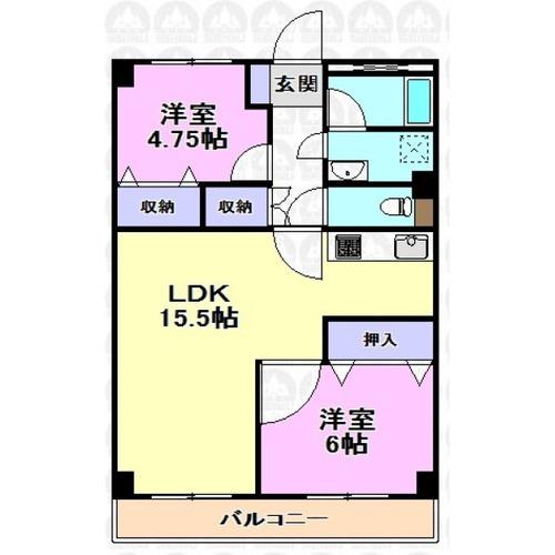 新武蔵野スカイハイツの物件画像