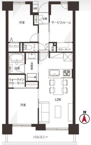 【本日ご見学可能】菊川パーク・ホームズの画像