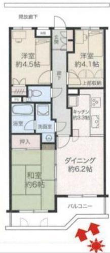 戸塚名瀬パーク・ホームズ参番館の物件画像