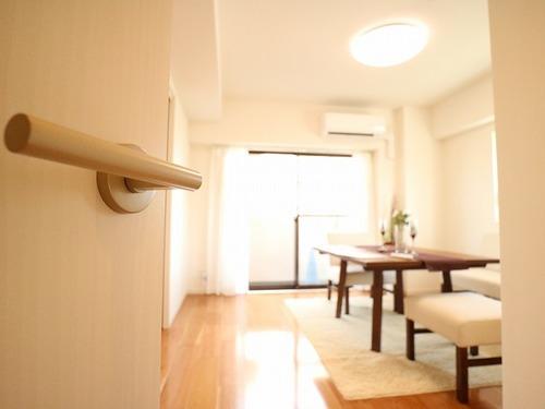 『クレッセント武蔵中原』~家具・照明付き~新規リノベーションされたお部屋の画像