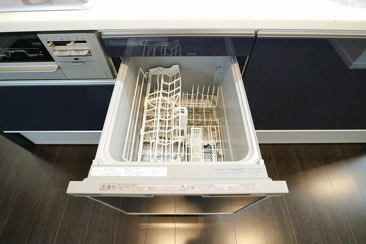 毎日の家事に強い見方。食洗機付です。