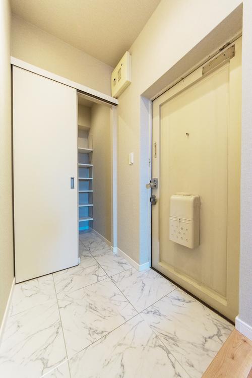 「玄関」SIC付きで玄関がすっきりと片付きます。