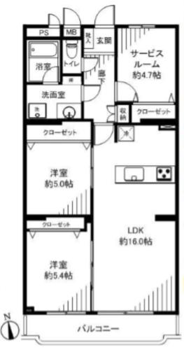 ライオンズマンション市川本八幡(309)の物件画像