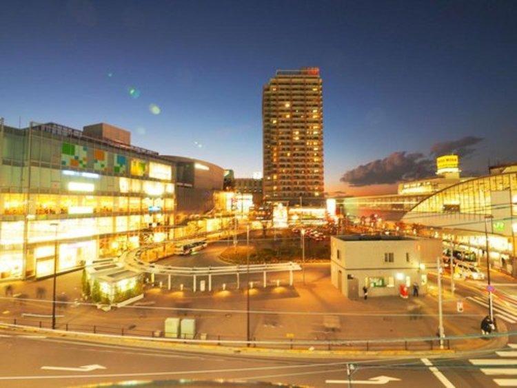 JR中央線「武蔵小金井」駅まで880m 再開発によって生まれ変わった武蔵小金井は、利便施設が充実し、普段の生活がより便利になりました。周辺には都市公園もあり、自然とも調和した魅力的な街です。