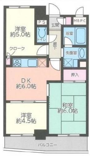 ライオンズマンション日吉東の物件画像