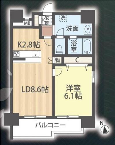 日野駅 大坂上 ゼクシア日野ステーションフロントの画像