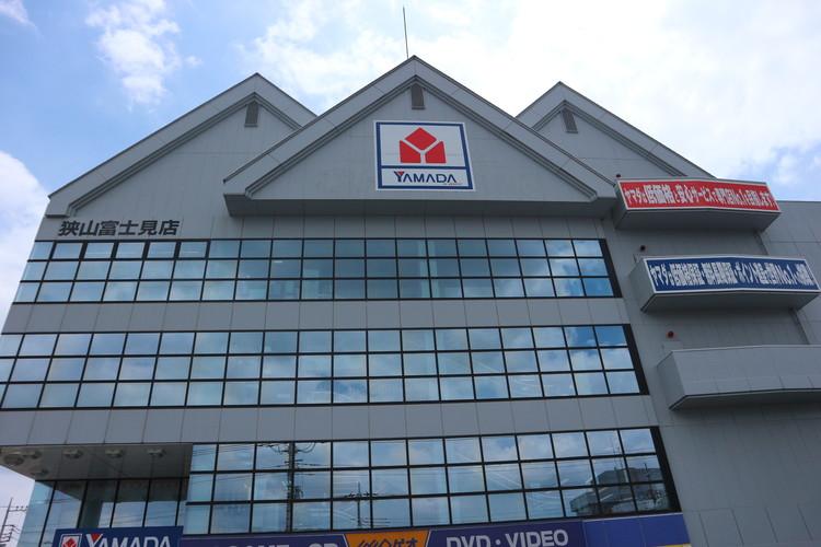 テックランド狭山富士見店。家電、おもちゃなどはこちらで購入が可能。