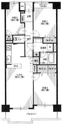 東戸塚ガーデンハウス壱番館の物件画像
