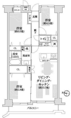 クレアール横浜大口の画像