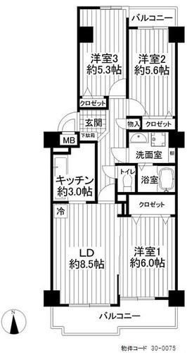 立川サニーコート(908)の物件画像
