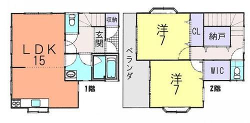野田市山崎 中古住宅の画像