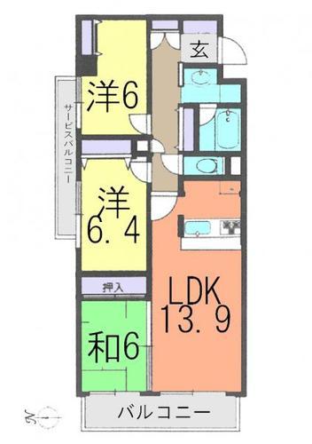 カルム草加弐番館の画像